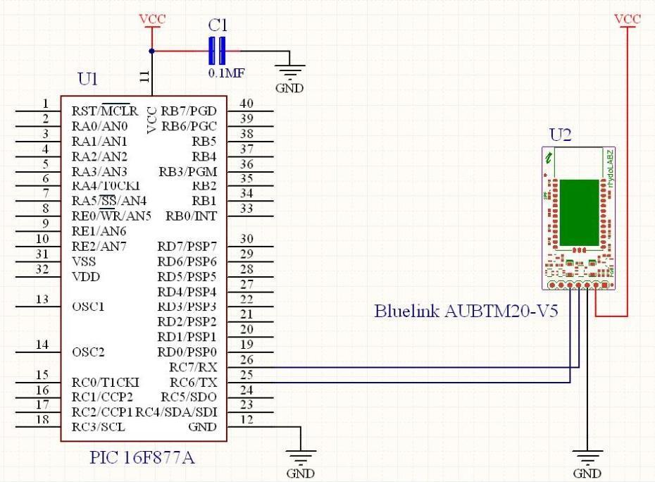 bluelink \u2013 bluetooth module (5v serial uart)