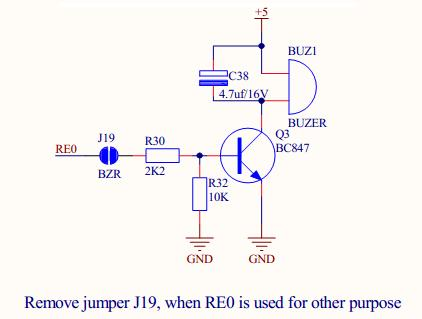 PIC18F4550 – Interfacing Buzzer