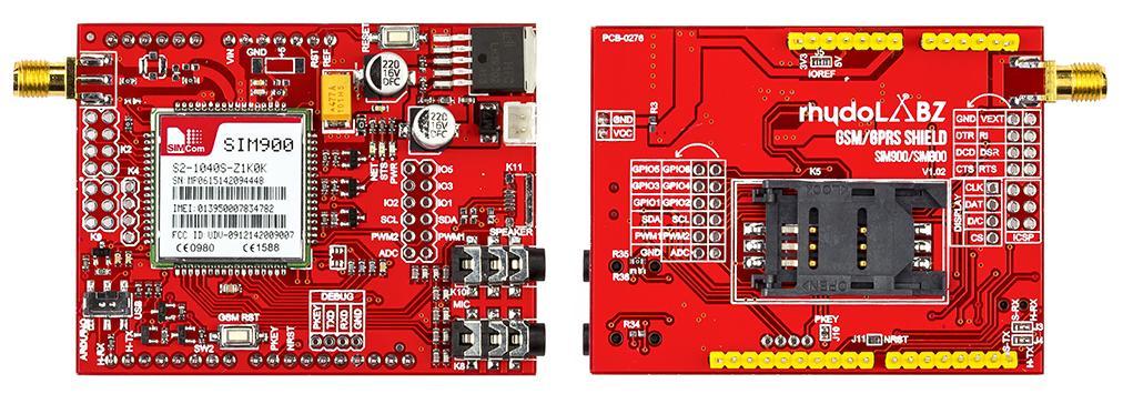 How to interface GSM/GPRS Shield (SIM900A/SIM900/SIM800) To an Arduino