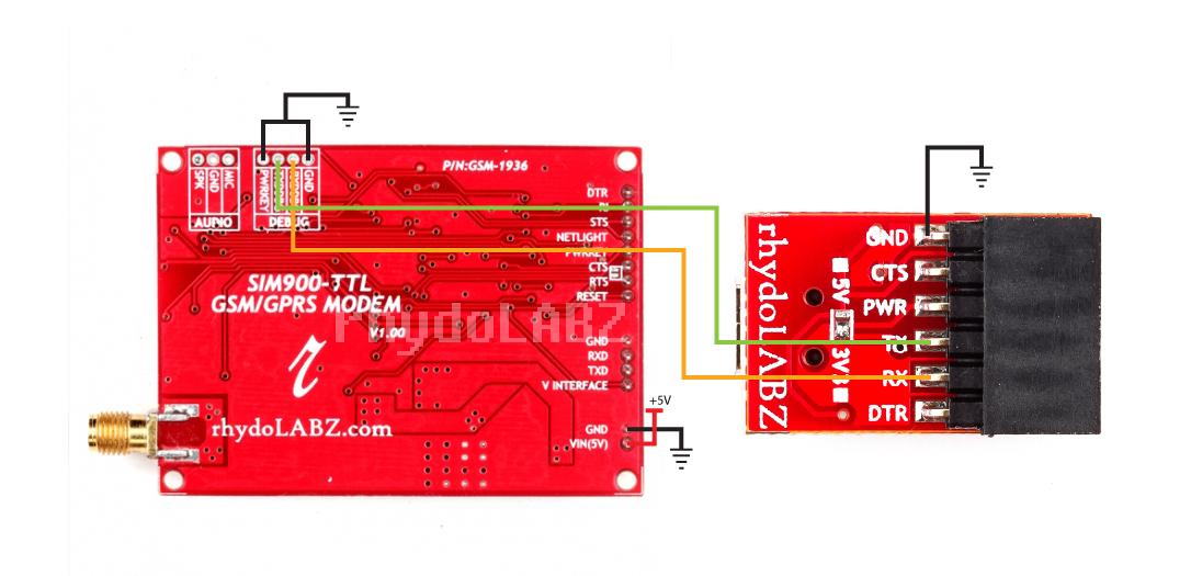 SIM900 GSM/GPRS Modem: Updating the firmware