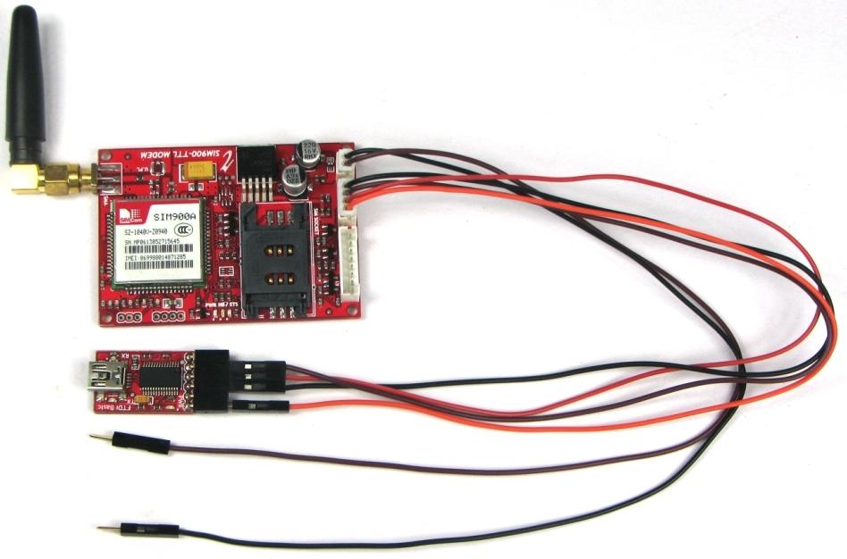 Getting Interfaced With GSM/GPRS TTL UART MODEM-SIM900