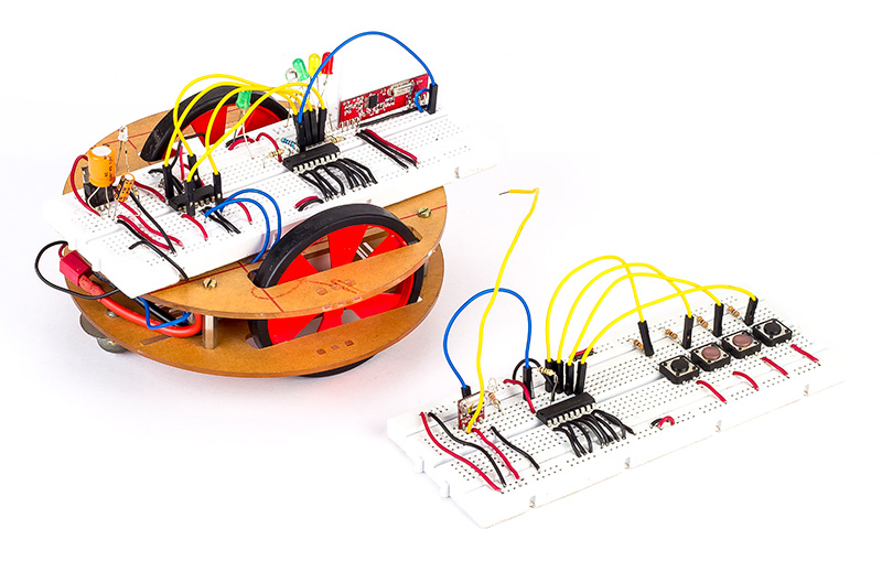 How to build a RF Controlled Robot (433MHz)