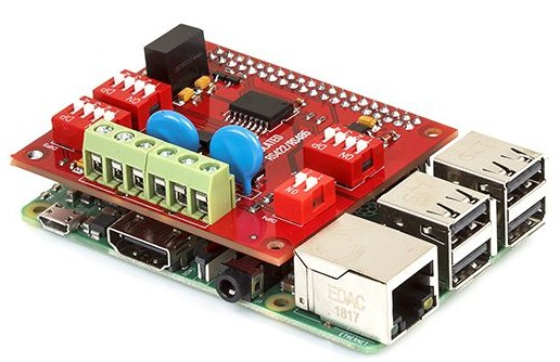 ISOLATED RS422/RS485 RASPBERRY PI HAT WITH ISOLATION