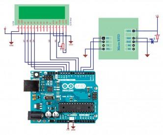 Interfacing EM-18 μRFID reader Wiegand26 with Arduino Uno