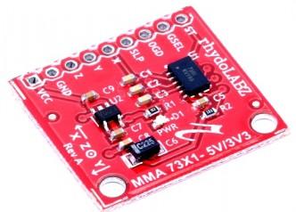 Triple Axis Accelerometer Module-MMA7361