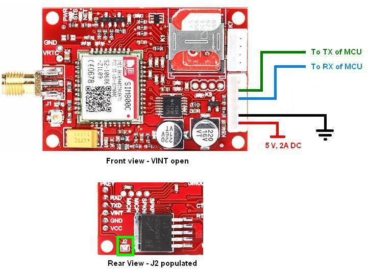 Familiarize with SIM800C TTL Modem