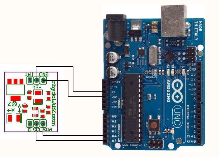 3-Axis Accelerometer Sensor (I2C)