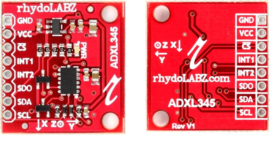 3 Axis Accelerometer with Regulator – ADXL345