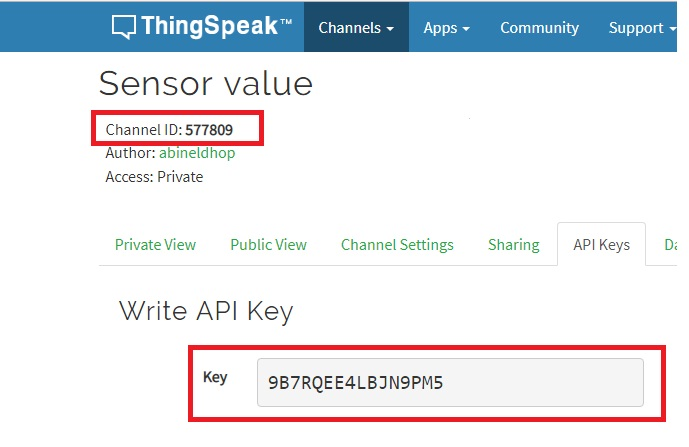 POSTING SENSOR VALUE TO A SERVER USING RELAY IOT BOARD