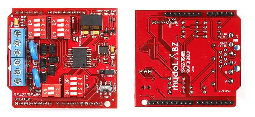 ISOLATED RS422/RS485 SHIELD FOR ARDUINO