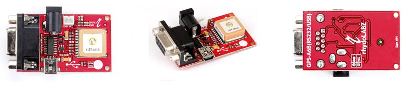 GPS Receiver with Antenna -RS232 Serial/USB