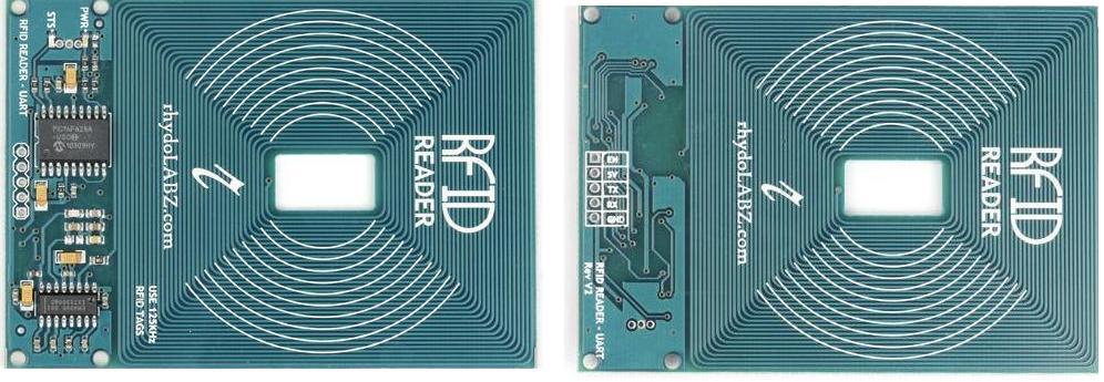 RFID Reader (125Khz) – Serial TTL Hookup Guide