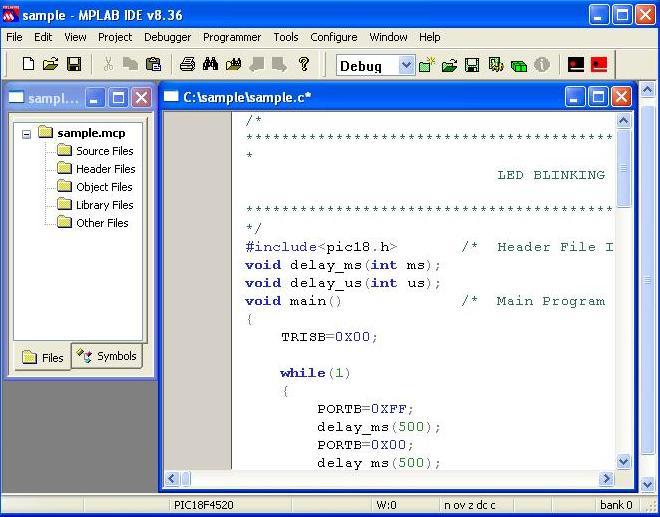 PIC18F4580 Mini Development Board – Overview